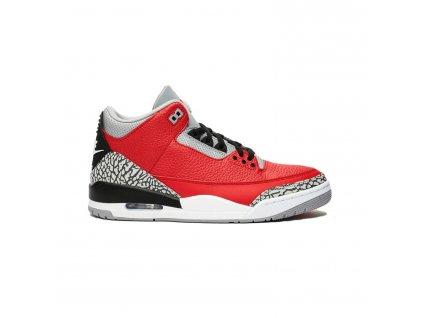 Jordan 3 Retro SE Unite Fire Red USED