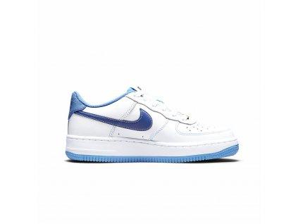 Nike Air Force 1 S50 White University Blue GS