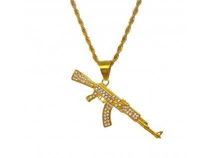 ICED OUT AK-47 CHAIN
