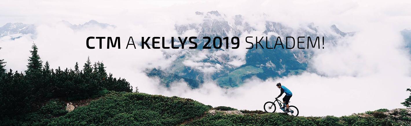 CTM a Kellys 2018 skladem!