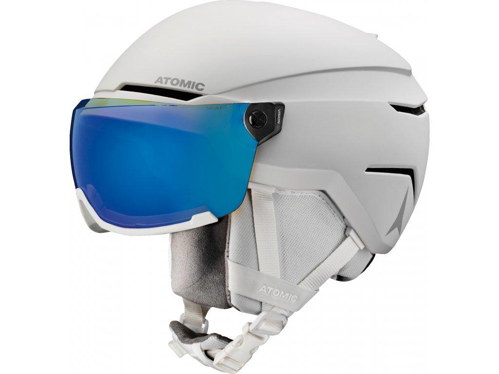 Atomic Savor Visor Stereo White Heath 19/20