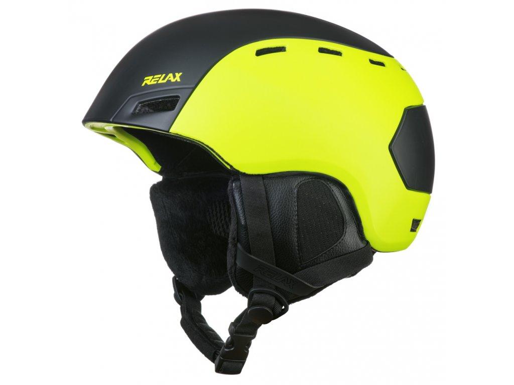 Lyžařská helma RELAX RH25C Combo matná