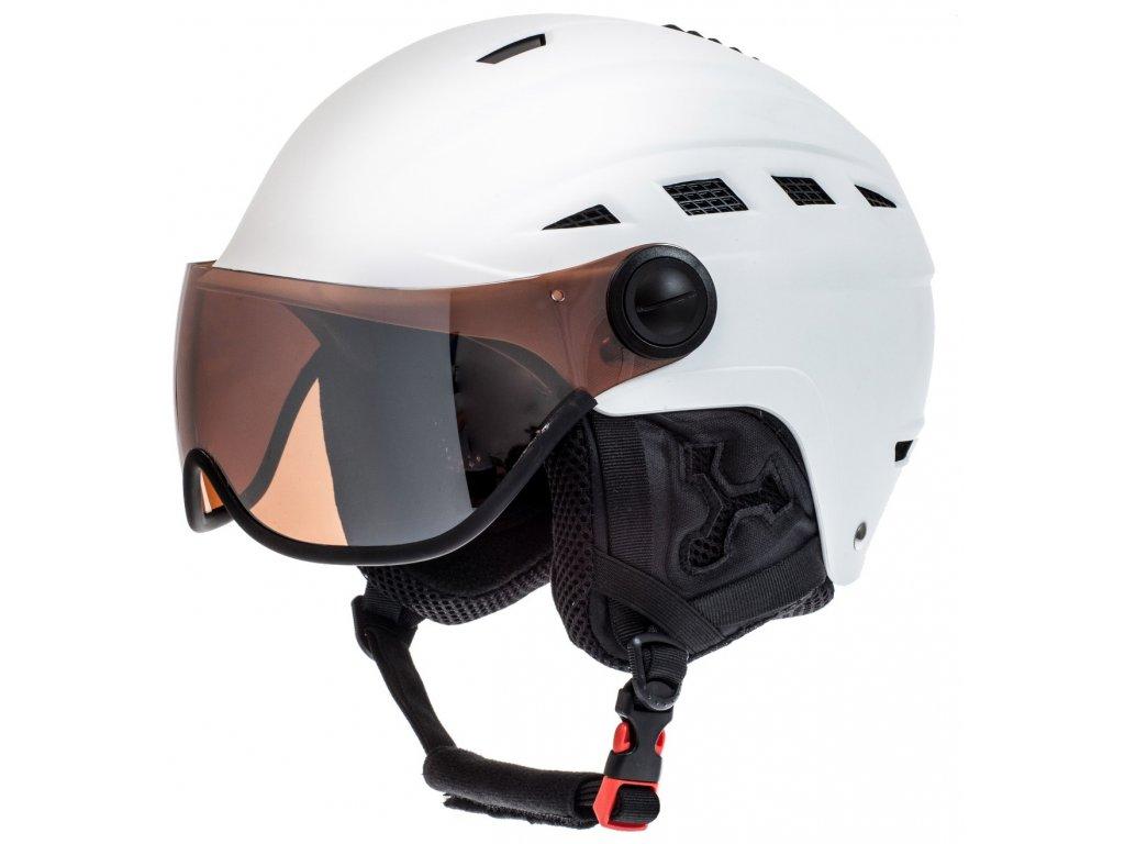 Lyžařská helma RELAX RH23B Slide Visor