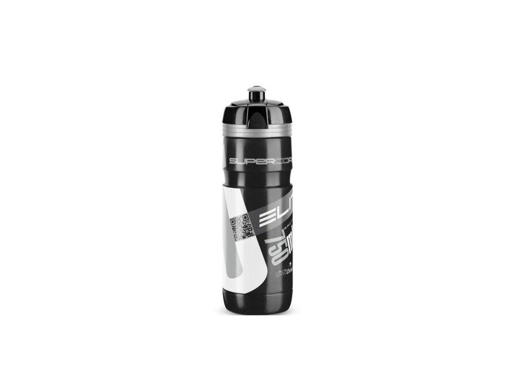 lahev ELITE Super Corsa černo stříbrná, 750 ml