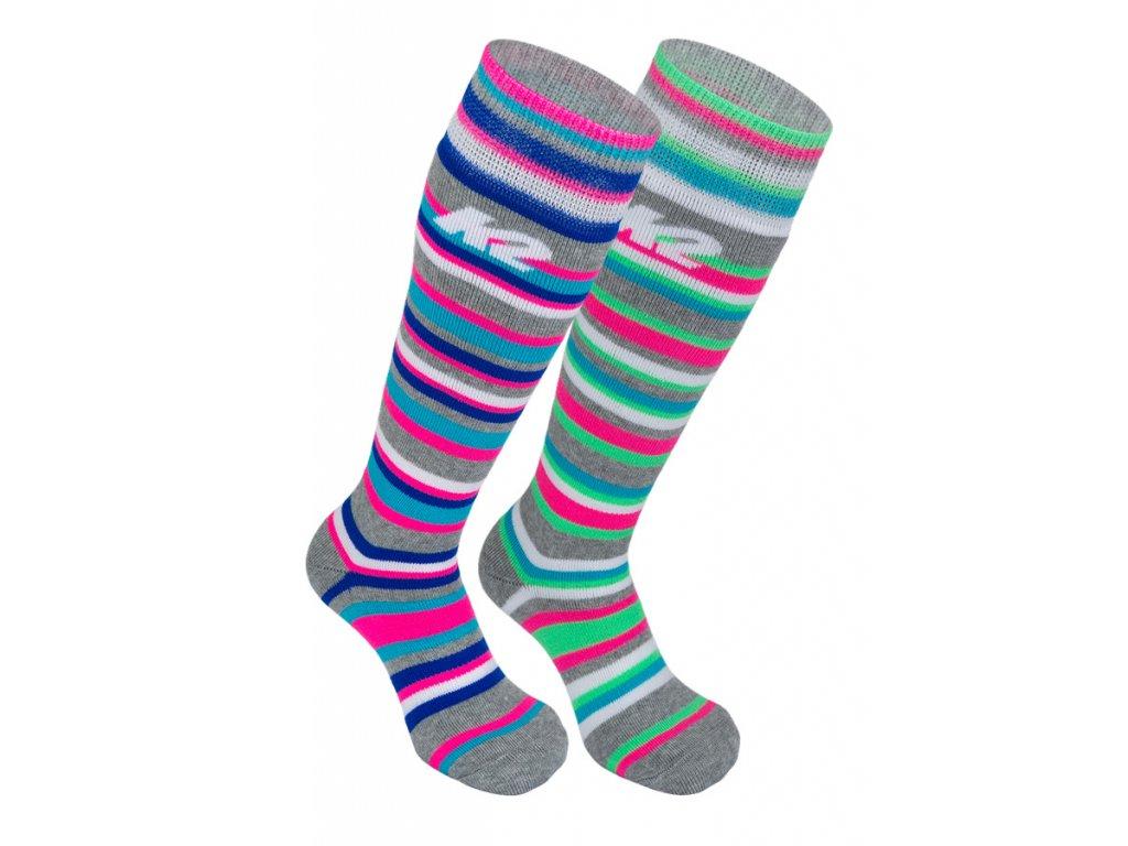 Dětské lyžařské ponožky K2