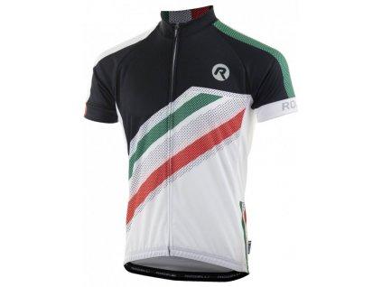 dres krátký pánský Rogelli TEAM 2.0 bílý