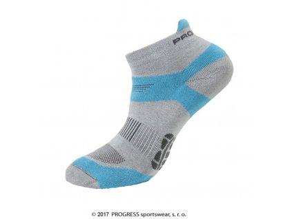 ponožky Progress RUNNING SOX šedé