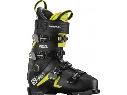 Salomon S/Pro 110 Black/Acid Green/White 20/21