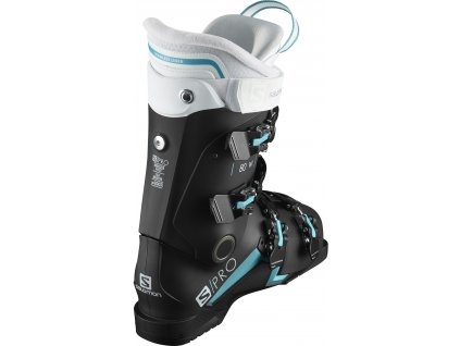 Salomon S/Pro 80 W IC Black/Scuba Blue/White 20/21