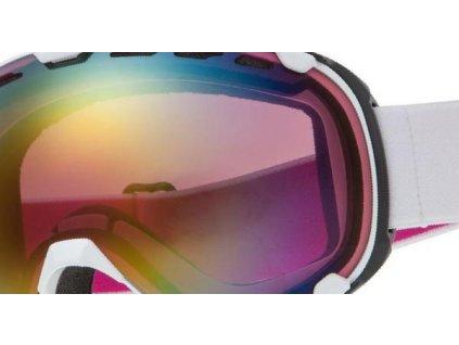 Lyžařské Brýle RELAX Dragonfly HTG56 bílý pásek