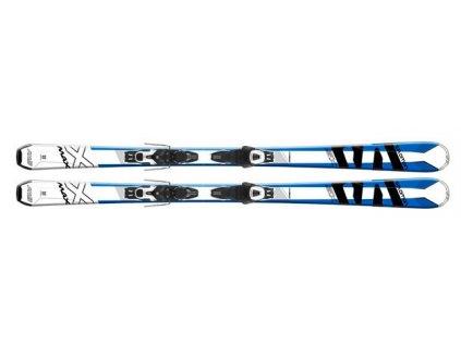 Salomon E X-MAX SX + E Lithium 10 Black/White L80 17/18