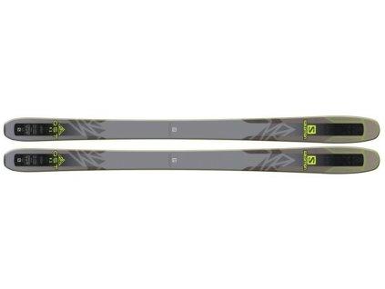 Salomon F QST 92 R Grey/Black/Green + F Warden 11 Demo Bk/WH L90 17/18