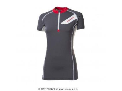 dres krátký dámský Progress PERSEA šedý