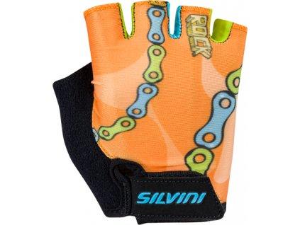 Cyklistické rukavice jr. Silvini Punta CA1438