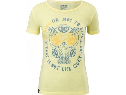 Dámský MTB dres Silvini Pelori WD1630 yellow/blue