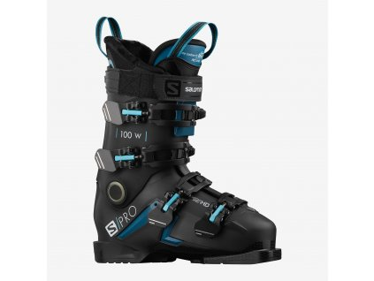 Salomon S/Pro 100 W Black/Blue/Scuba 20/21
