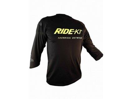 dres krátký pánský HAVEN RIDE-KI černá/zelená