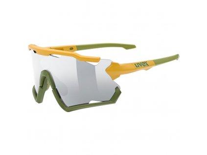brýle UVEX Sportstyle 228 žluto/zelené