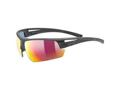 brýle UVEX Sportstyle Ocean Polavision černo/červené