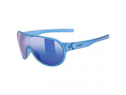 brýle UVEX Sportstyle 512 modré transparentní