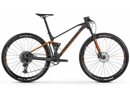 "Celoodpružené kolo MONDRAKER F-Podium Carbon  carbon/orange/grey 29"" 2021"