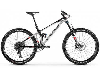 "Celoodpružené kolo MONDRAKER  Superfoxy R, silver/black/red 29"" 2021"