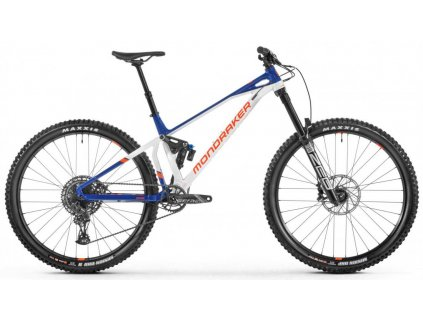 "Celoodpružené kolo MONDRAKER  Superfoxy white/blue/orange 29"" 2021"