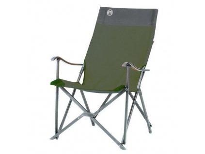 5ed82a2d zidle coleman sling chair zelena