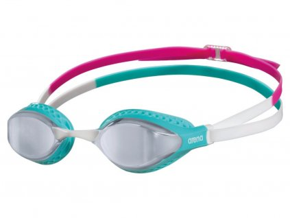 Plavecké brýle Arena Airspeed Mirror silver-turquoise