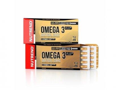 tablety Nutrend OMEGA 3 PLUS SOFTGEL 120tablet