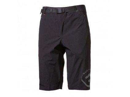 kalhoty krátké dámské Progress CALAMITA černé