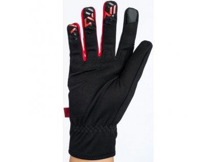 Dětské rukavice Silvini Ortles Black-Red