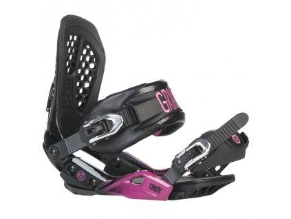 Vázání GRAVITY G3L black/pink