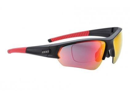 brýle BBB BSG-51 SELECT OPTIC MLC červené