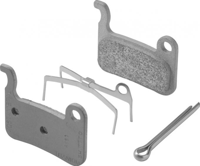 Shimano-servis brzdové destičky Shimano XT, XTR, SLX M06 kovové original balení