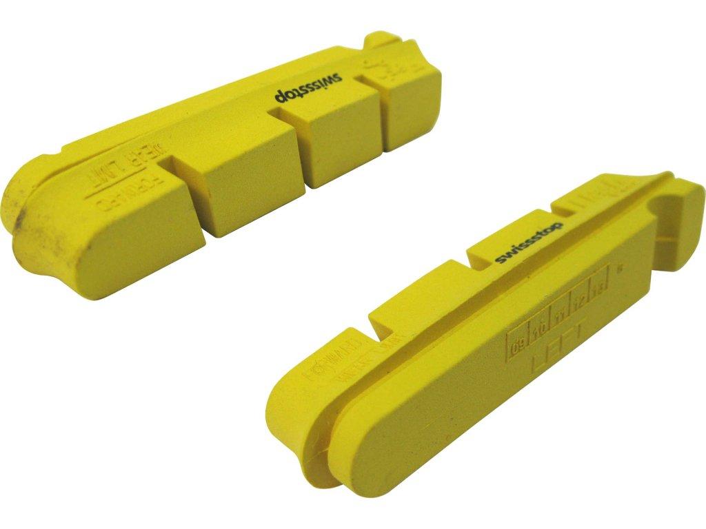 špalíky-gumičky SunRace BPRZ3 silniční SwissStop, pro carbonové ráfky