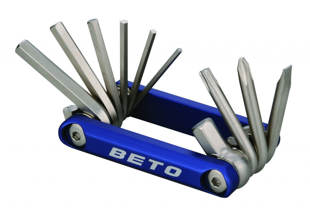 klíče multi BETO BT-348 10v1