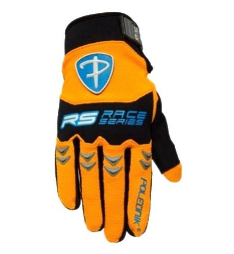 rukavice Poledník MX oranžové Velikost: XL