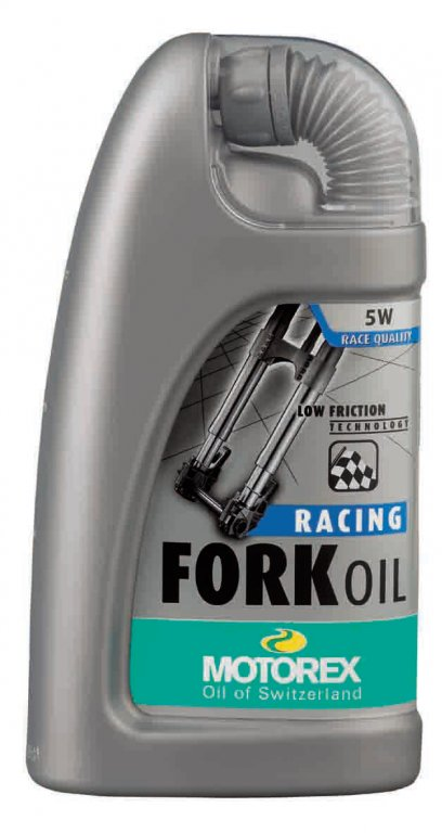 olej MOTOREX Racing Fork Oil 5W 1l MOTOREX