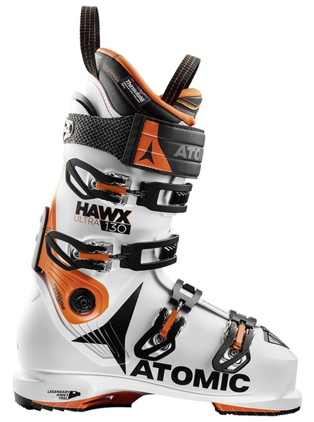 Atomic Hawx Ultra 130 White/Orange/Black 17/18 Velikost: 24,0