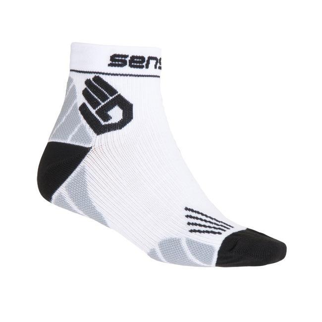 ponožky SENSOR MARATHON bílé Velikost: 39-42