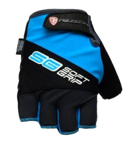 rukavice Poledník SOFT GRIP modré Velikost: M