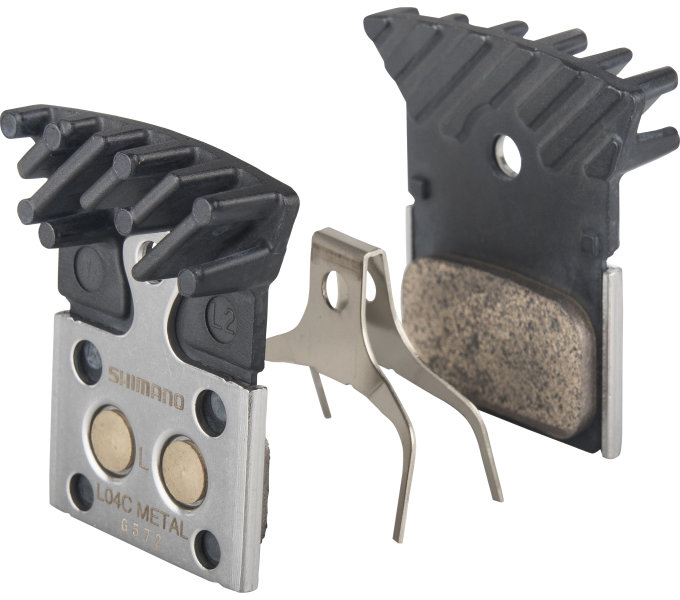 Shimano-servis brzdové destičky Shimano DURA-ACE L04C kovové original balení