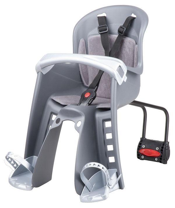 sedačka Polisport Bilby Junior přední se zadním úchytem šedo-stříbrná