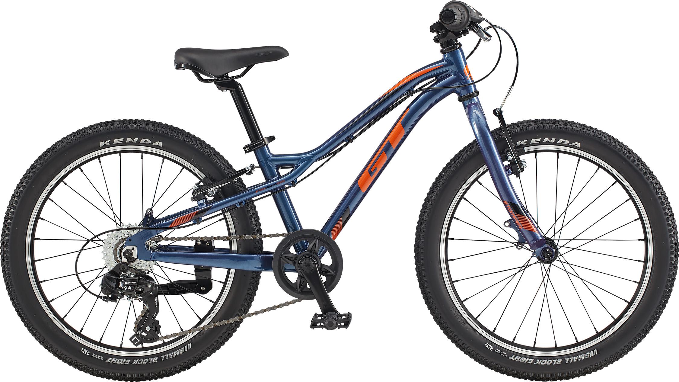"""GT Stomper Prime 20"""" Dark Blue/Orange 2020"""