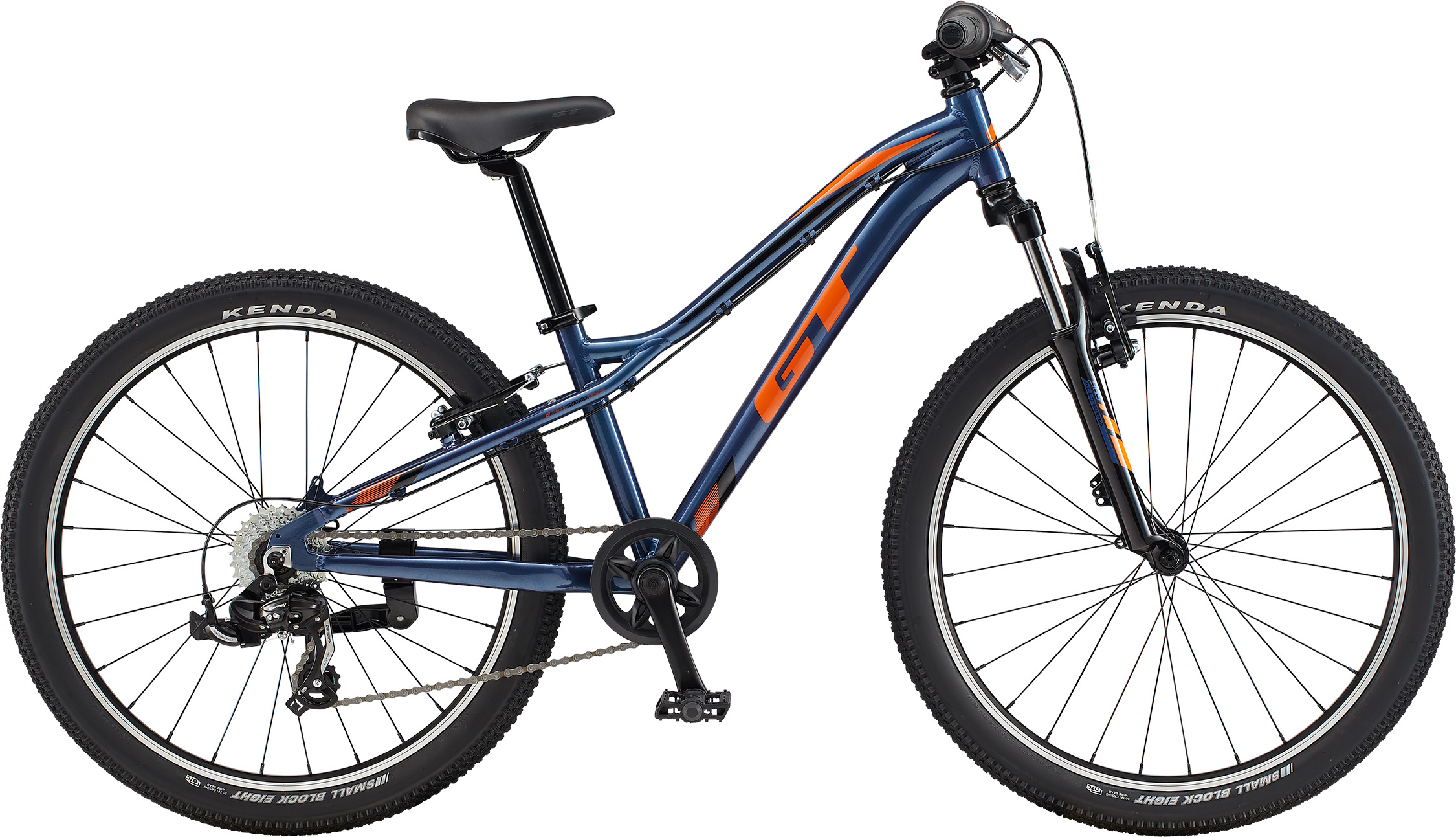 """GT Stomper Prime 24"""" Dark Blue/Orange 2020"""