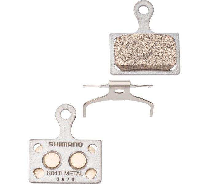 Shimano-servis brzdové destičky Shimano DURA-ACE K04Ti kovové original balení