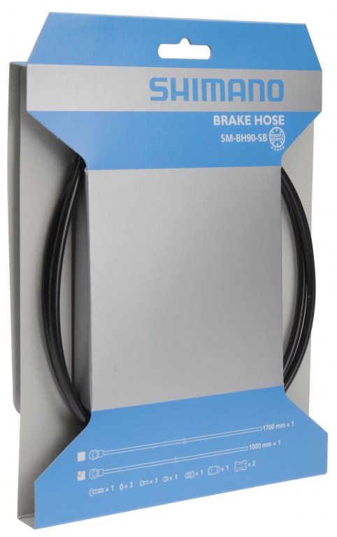 hadička hydraulických brzd Shimano SM-BH90-SBS ZEE 1700mm černá original bale