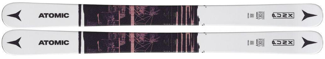 Atomic Punx JR Grey/Brown + N L 7 Bl/WH Délka: 140