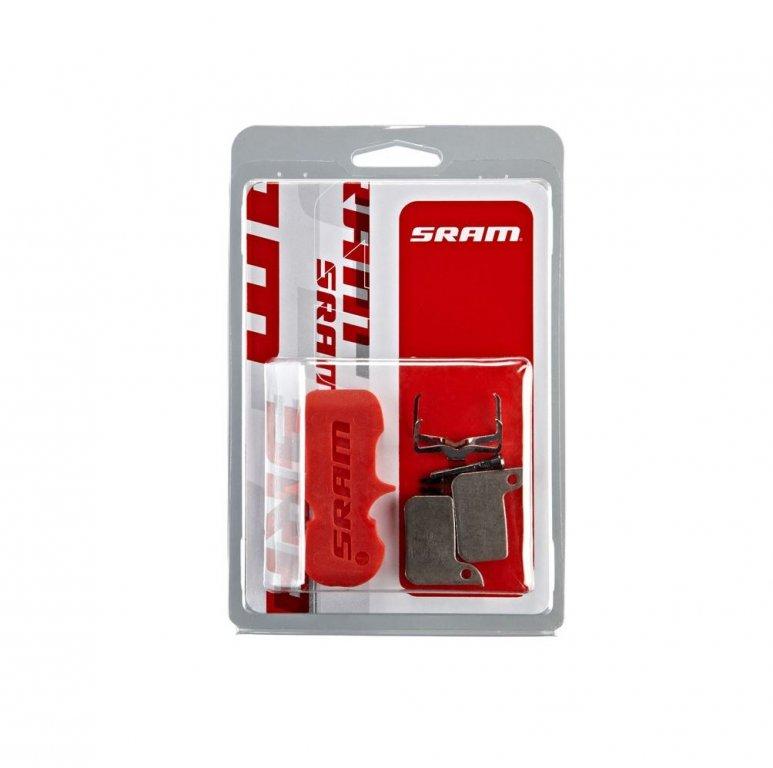 brzdové destičky SRAM DB HRD sintrované/ocelové
